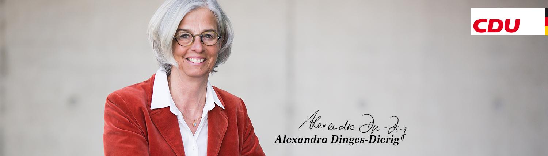 Alexandra Dinges-Dierig - Ihre Bundestagsabgeordnete für Lübeck und das nordwestliche Herzogtum Lauenburg